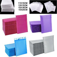 20X POLY BUBBLE MAILERS SHIPPING MAILING PADDED BAGS ENVELOPES SELF SEAL BAG UK