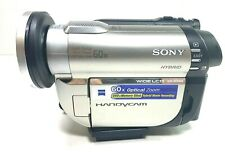 Sony HandyCam DCR-DVD650 60X Zoom Hybrid DVD Camcorder Touch Screen Box