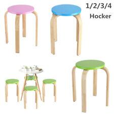 Hocker Sitzhocker Stapelhocker Küchenhocker Gäste Kinderhocker Stapelhocker XL