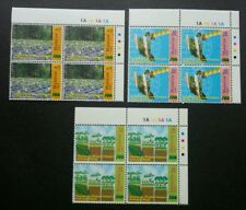 Malaysia 100th Anniv Of Forestry 2001 Plant Map Satellite Tree (stamp blk 4) MNH