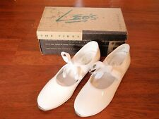 Girl's White Tap Shoes by Leo's - Sz. 2.5 - NEW in Box