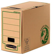 20 Fellowes Archivboxen Bankers Box Earth Series A4+ Archivkarton 15,0 x 35,0 x
