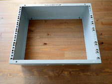 "Shallow Studio Wall Box or Stage Box 19"" 8U high 150 mm deep Stagebox Wallbox"