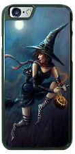 Halloween Flying Witch Broom Phone Case Cover For iPhone Samsung LG Google