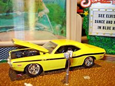 100% HOT WHEELS 1970 DODGE CHALLENGER R/T 440 LIMITED EDITION 1/64