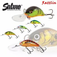Salmo Hornet Rattlin Lure fishing Floating Crankbait fox rage canal fishing pike
