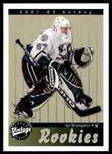 2001-02 Upper Deck Vintage Rookies Ilya Bryzgalov Rookie #272