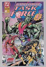 JUSTICE LEAGUE TASK FORCE 1 Flash Aquaman Nightwing Martian Manhunter Power Girl