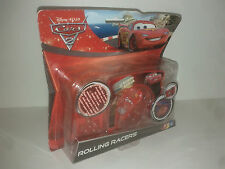 CARS 2 ROLLING RACERS Flash Mcqueen  NEUF Disney