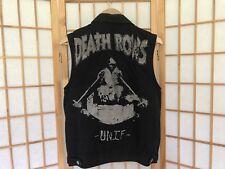Unif Death Row Denim Vest Size S 90's Cotton