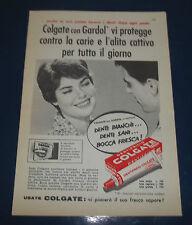 A246-Advertising Pubblicità-1959-DENTIFRICIO COLGATE