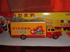 Corgi Toys Berliet Pinder Circo camión Con Caja, desplácese hacia abajo para ver el ph0tos