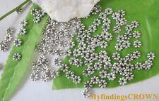 700PCS Tibetan Silver daisy spacer beads 5mm W299