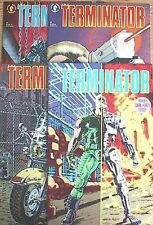 1990 Terminator: Tempest Comic Books #1-4 Set of 4-Dark Horse NM  FREE S&H