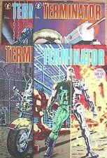 1990 Terminator: Tempest Comic Books #1-4 Set of 4-Dark Horse NM  FREE S&H