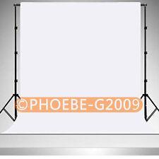 Photography Chromakey White Backdrop 1.8m x 2.8m 100% Cotton Muslin background