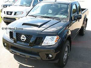 1998-2020 Hood Scoop For Nissan Frontier By MRHoodScoop PAINTED HS009