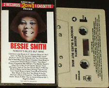 Bessie Smith ‎ Nobody's Blues But Mine CASSETTE U.S. issue 32 tracks