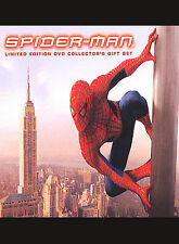 Spider-Man (DVD, 2002, 3-Disc Set, Limited Edition Collector's Giftset;...