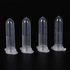 100pcs 2ml Micro Centrifuge Tube Vial Clear Plastic Vials Container Snap Cap Ci