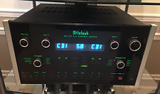 McIntosh MX136 Preamplifier A/V Control Center With Remote and Owner's Manual