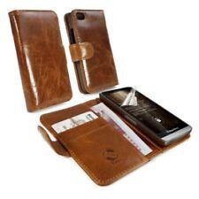 Fundas y carcasas Universal de piel para teléfonos móviles y PDAs BlackBerry