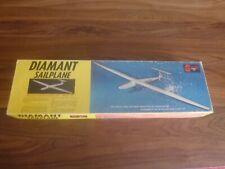 "Sterling Diamant 74"" Wingspan R/C Glider/Sailplane Kit Complete In Box"