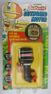 NEW Vtg 1960s IDEAL Motorific BOATERIFIC Toy Outboard MERCURY MOTOR CU-25 NOS