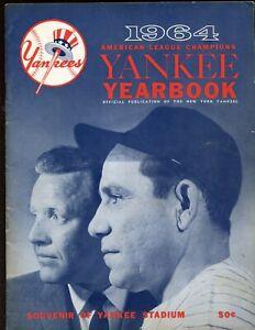 1964 New York Yankees Yearbook EX