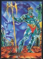 1995 Flair Marvel Annual Trading Card #88 Llyron