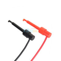 2pc Banana Plug Cord 4mm to Test Hook Clip Probe Cable Lead Cable for Multimeter