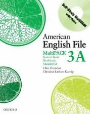 American English File Level 3 Student and Workbook Multipack A-ExLibrary