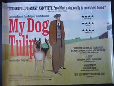 MY DOG TULIP ORIGINAL 2009 QUAD POSTER CHRISTOPHER PLUMMER GERMAN SHEPHERD