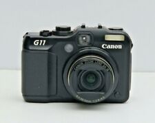 CANON PowerShot G11 10.0MP Digital Camera With Box and Extra Battery