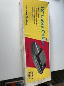 """Dumas Boats 12"""" Cabin Cruiser Model Kit 1003"""