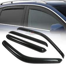 FOR 00-05 EXCURSION SUV SMOKE TINT WINDOW VISOR SHADE/VENT WIND/RAIN DEFLECTOR