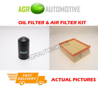DIESEL SERVICE KIT OIL AIR FILTER FOR LAND ROVER DEFENDER 110 2.5 122BHP 1998-12