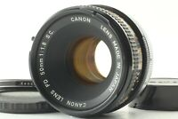 [Exc+3] CANON FD 50mm F1.8 S.C. SC MF Film Camera Lens from Japan #2222