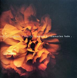 CD: Switch 3- Memories Fade (2004 Australian Band)