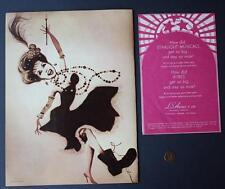 RARE SIGNED DEBBIE REYNOLDS 1970 STARLIGHT MUSICALS PROGRAM SET CARRIE FISHER