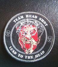 SWAT TEAM HEAD SHOT VELCRO® BRAND FASTENER PATCH