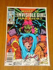 WHAT IF #42 INVISIBLE GIRL MARVEL DEC 1983 NM (9.4) *