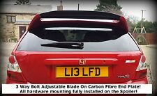 Honda Civic Mugen EP3 Type R Rear Boot Spoiler/Trunk Wing 2001-2005 - EP3CFE New