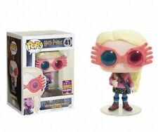 Funko Pop! Movies: Harry Potter - Luna Lovegood with Glasses (41) Figura Bobble Head, Summer Convention Exclusive Edition