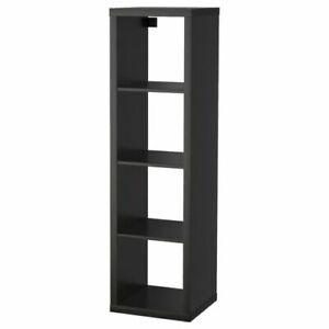 Ikea Kallax Shelf Unit Black Brown, 1 x 4, 402.758.46 - NEW IN BOX