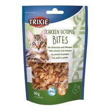 Trixie Premio Chicken Octopus Bites Cat Treats 50g