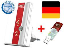 AVM WLAN Repeater Verstärkung für Fritzbox 7490 Fritz!Box USB Dongle Set Stick