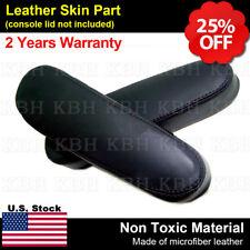 2pcs Seat Armrest Leather for Chevy Tahoe Suburban Escalade Yukon 00-06 Black