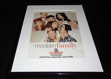 Modern Family 2009 Premiere ABC Framed 11x14 Advertisement Sofia Vergara