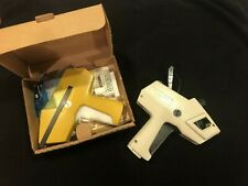Nos Monarch 1110 Pricing Gun In Box With Certificates Plus Gently Used 1105 Gun